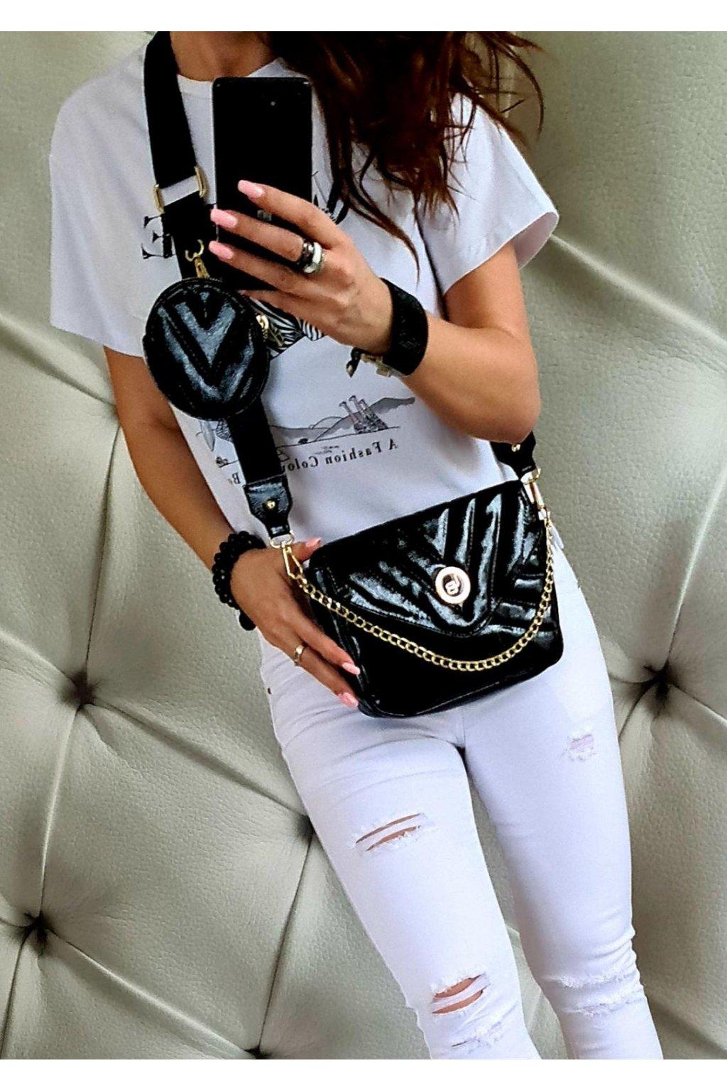 crossbody laura biaggi značková kabelka luxusní trendy must have