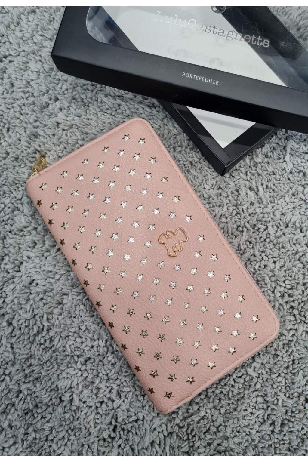 Dámská peněženka Lulu Casta růžová