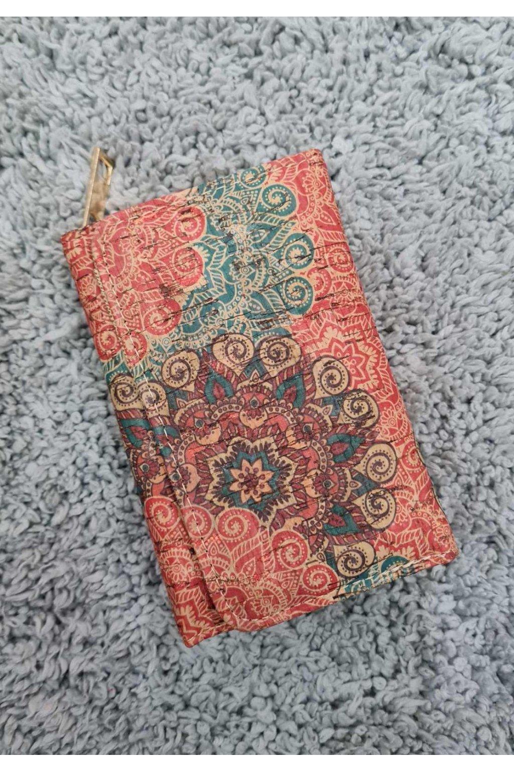 Menší Dámská korková peněženka I