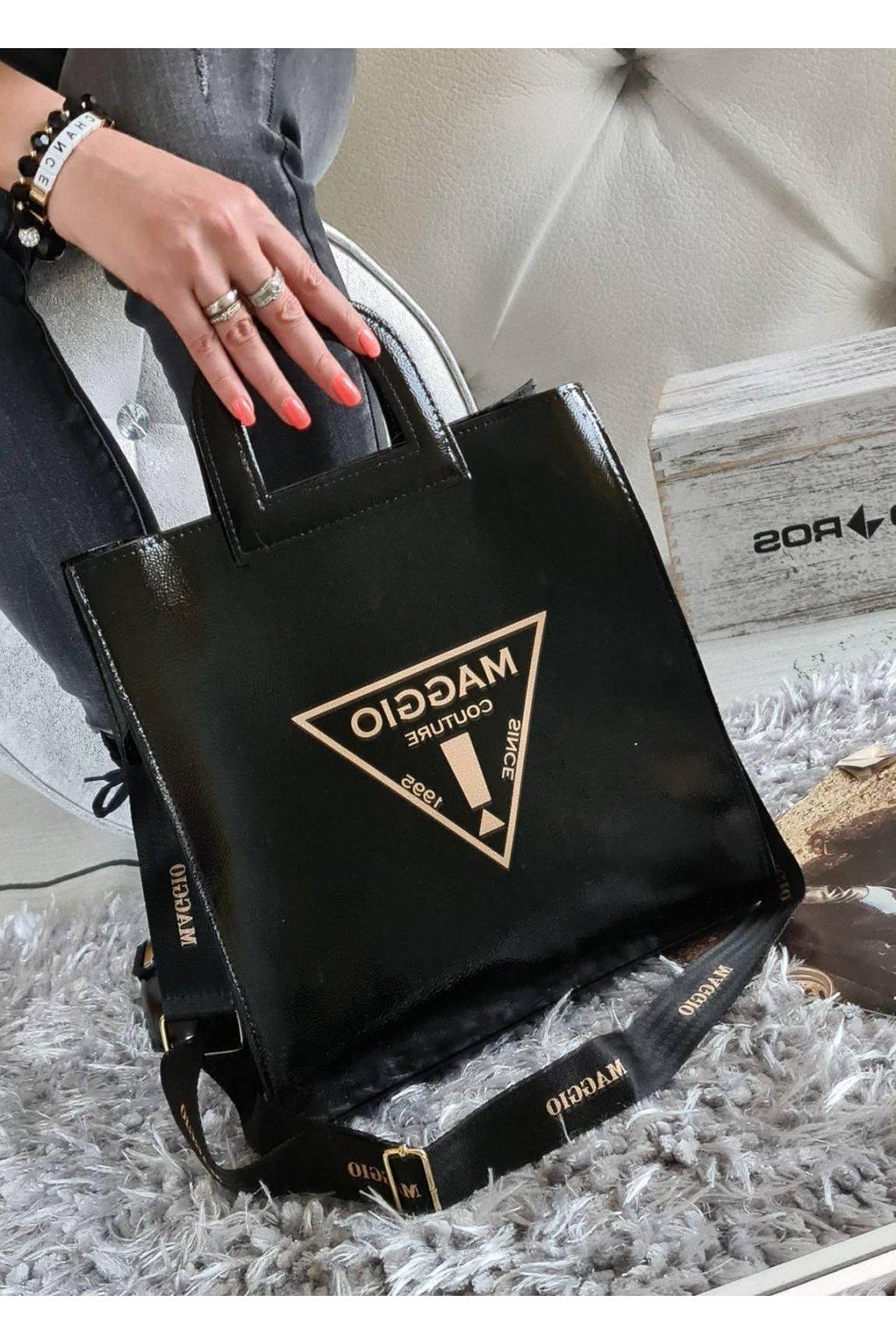 Kabelka trendy Maggio couture luxusní značková kabelka