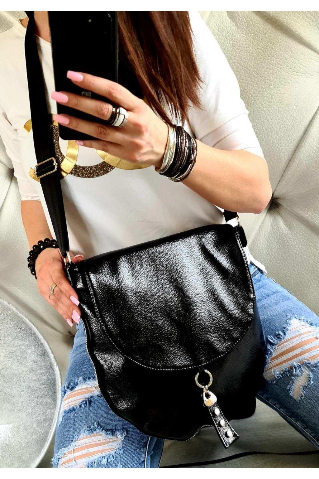 Crossbody swats luxusní značková trendy kabelka černá