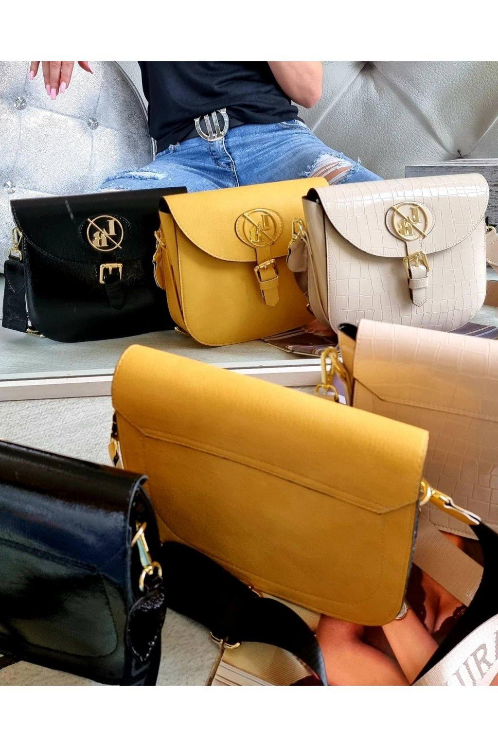 crossbody laura biaggi luxusní značková kabelka trendy italy fashion elegant