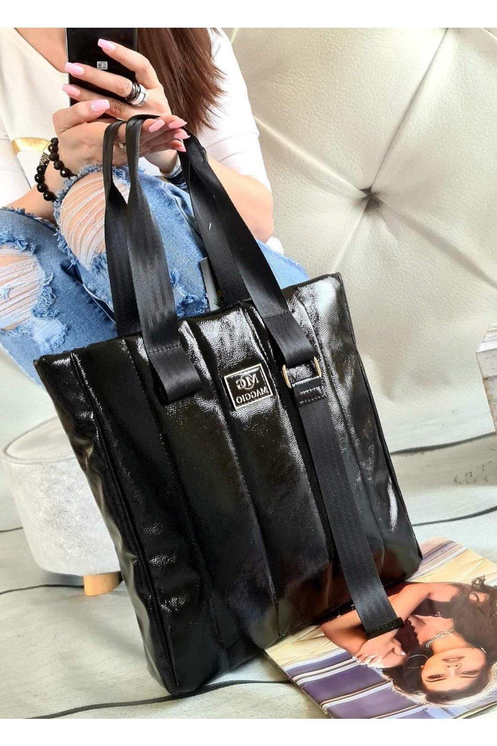 kabelka Maggio trendy značková luxusní kabelka italy fashion černá