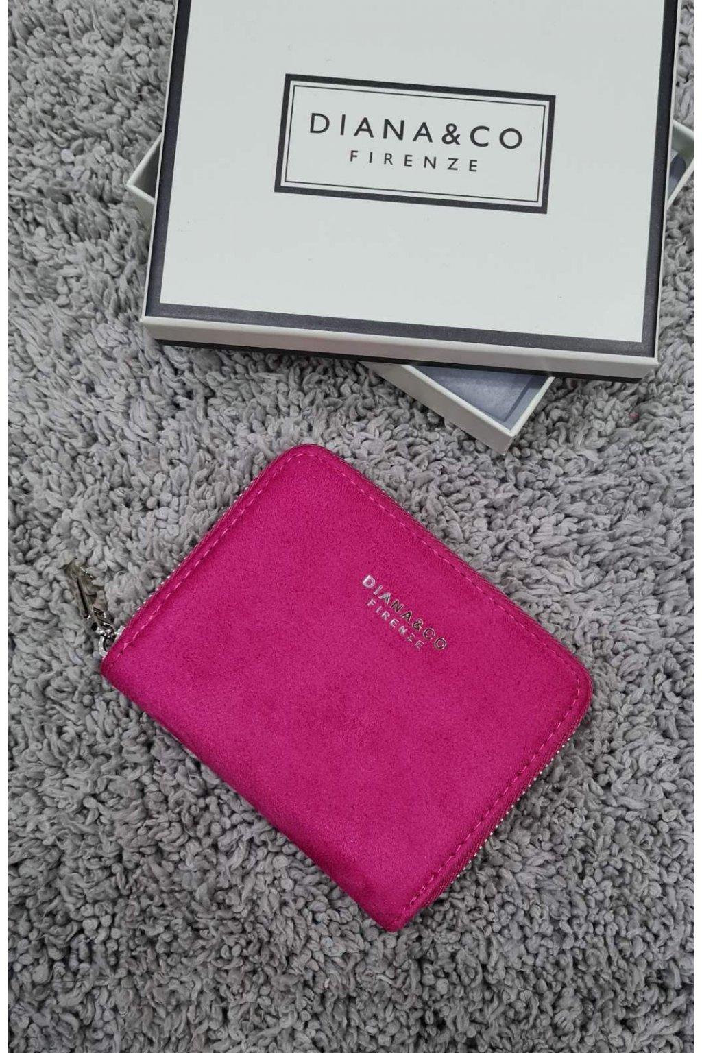 Dámská peněženka Diana&co růžová