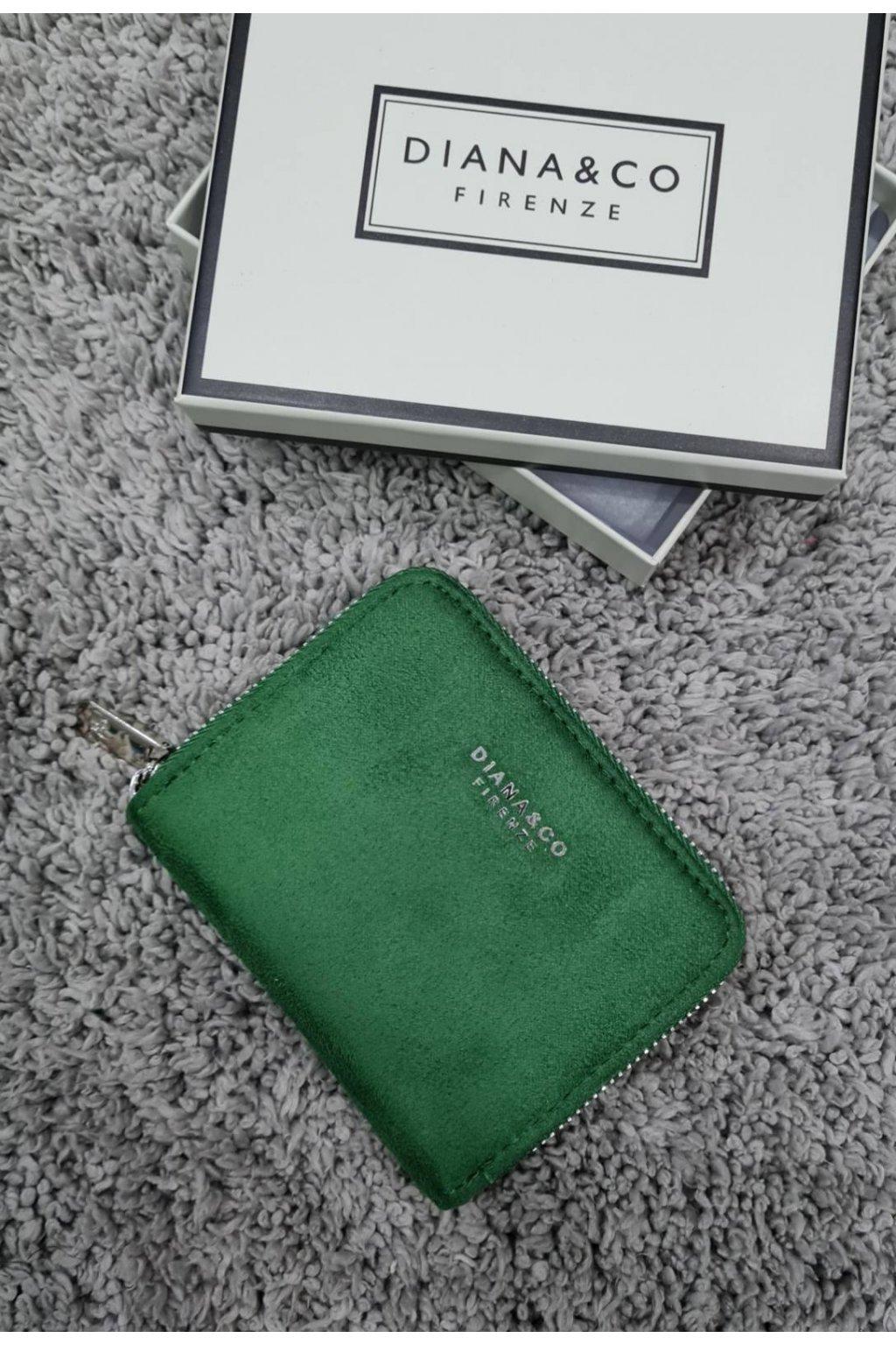 Dámská peněženka Diana&co zelená