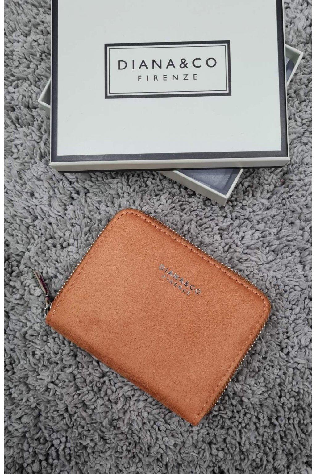 Dámská peněženka Diana&co oranžová
