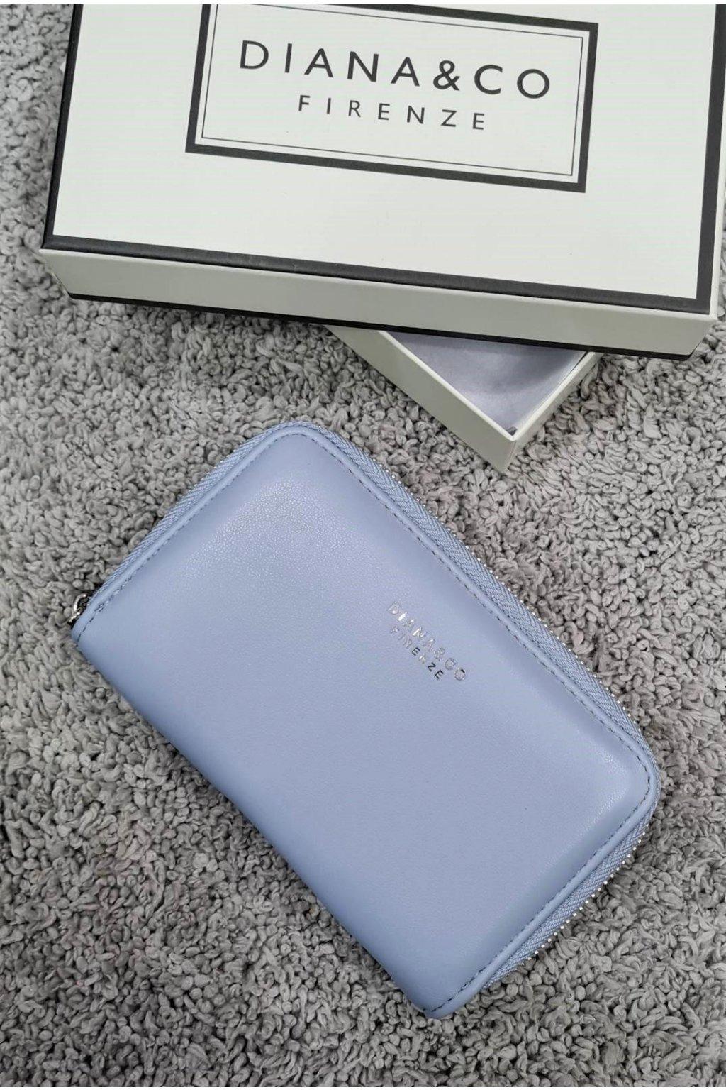 Značková peněženka Diana&co modrá