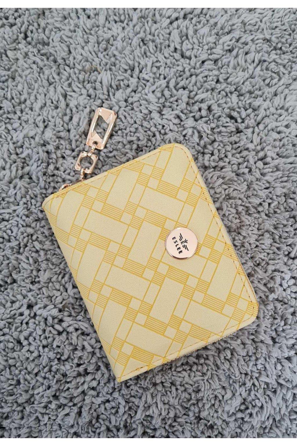Dámská peněženka ELSLEE žlutá
