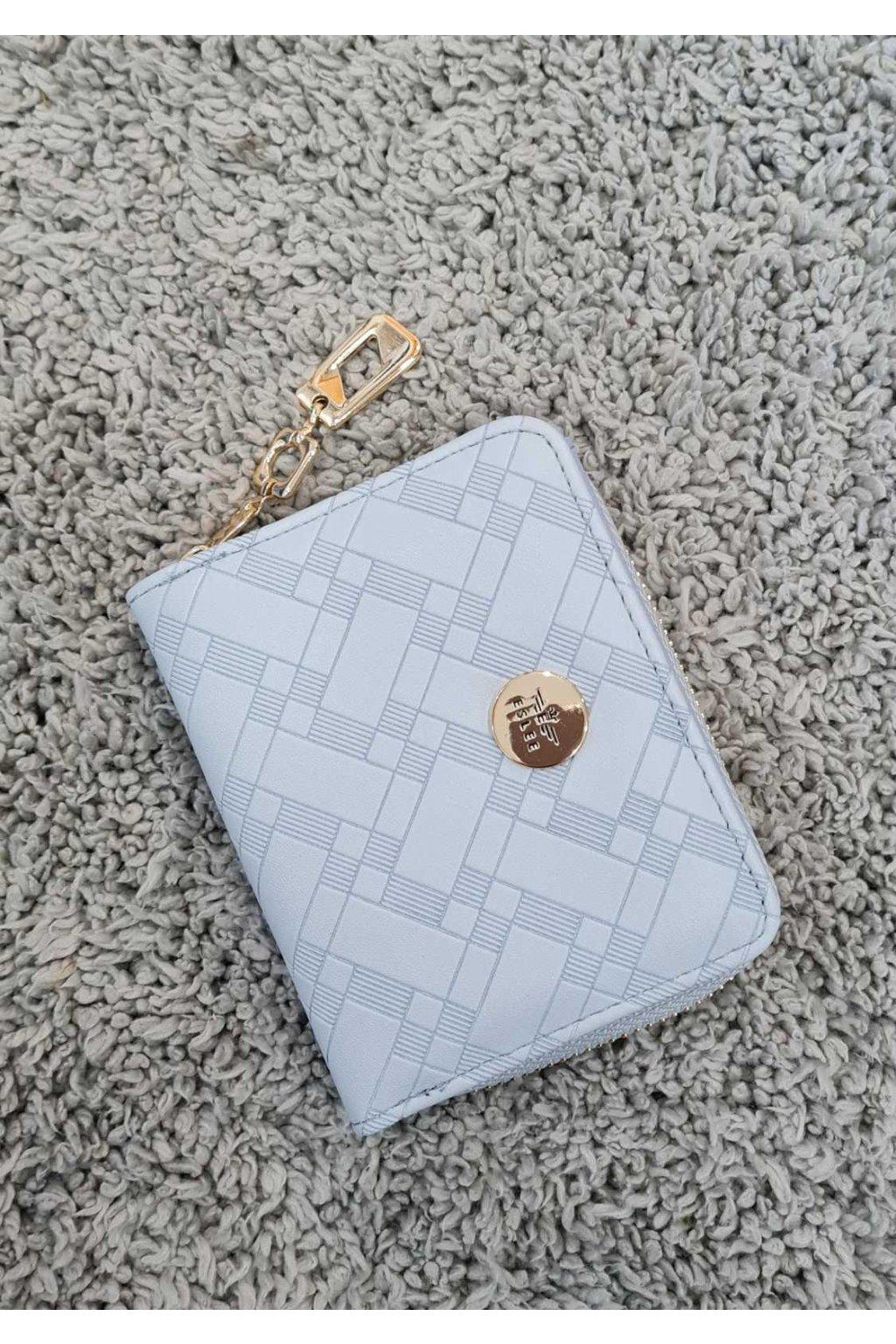 Dámská peněženka ELSLEE světle modrá