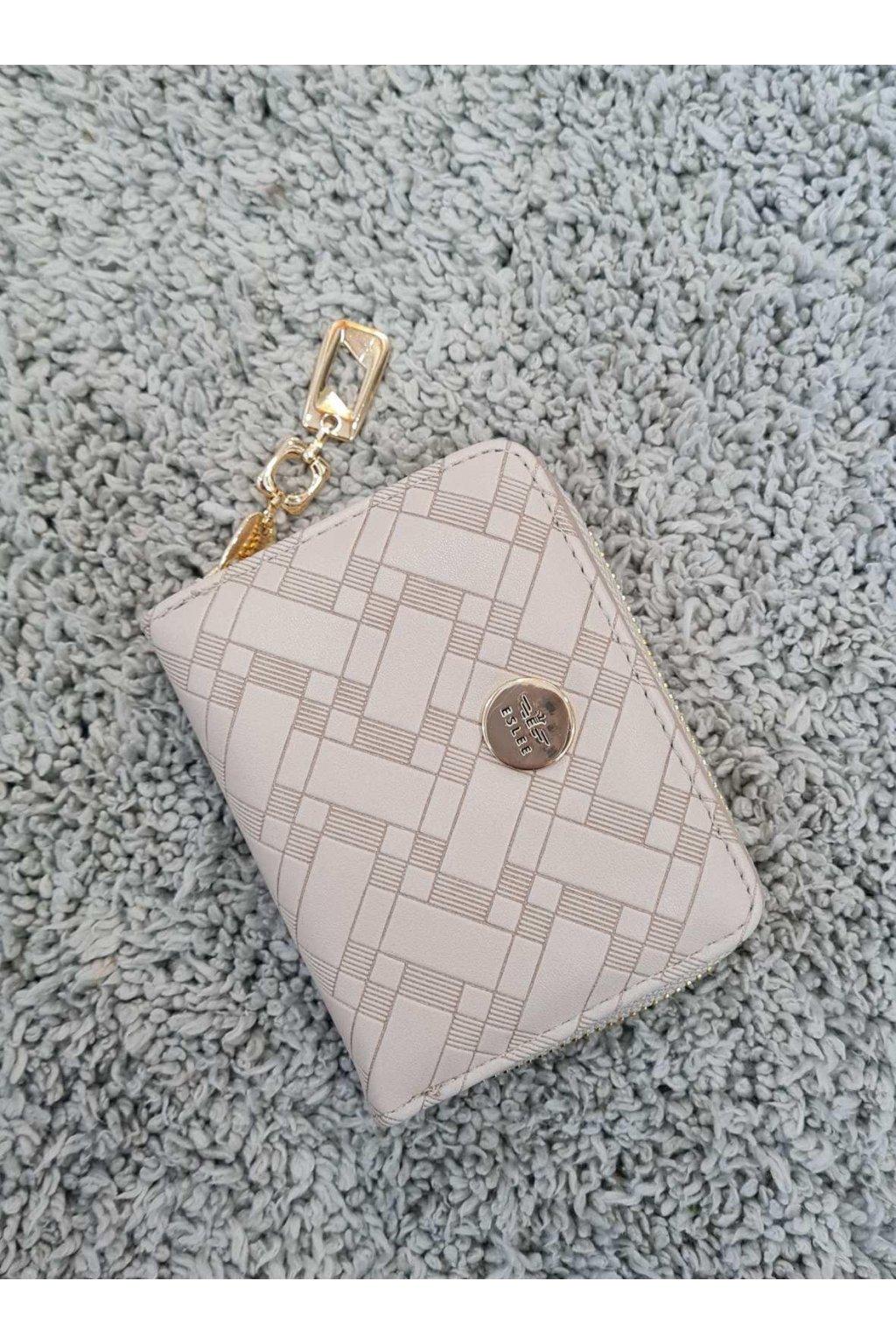Dámská peněženka ELSLEE béžová