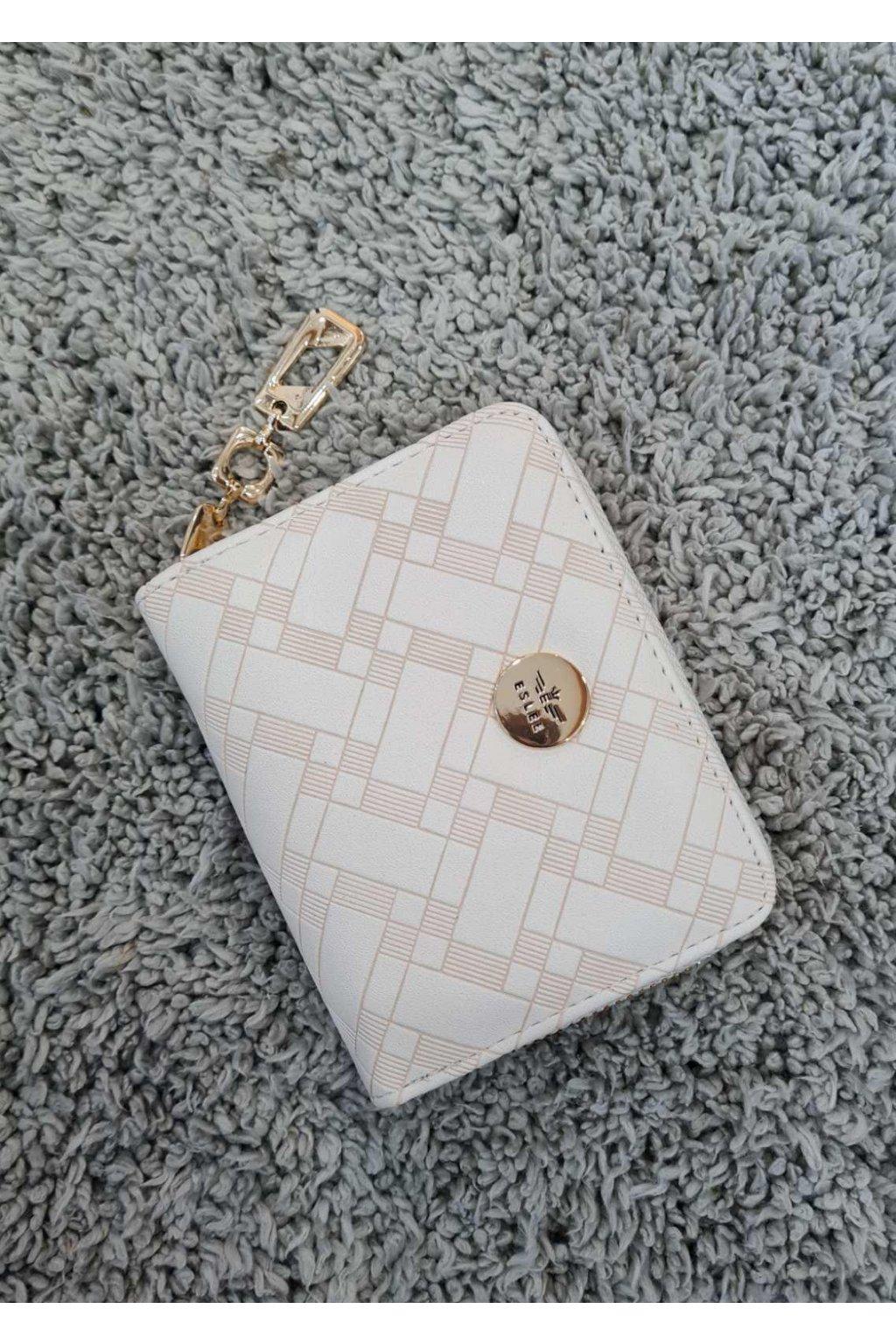Dámská peněženka ELSLEE světle béžová