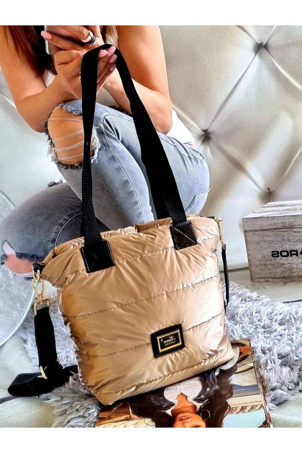 kabelka karen trendy kabelka značková luxusní zlatá