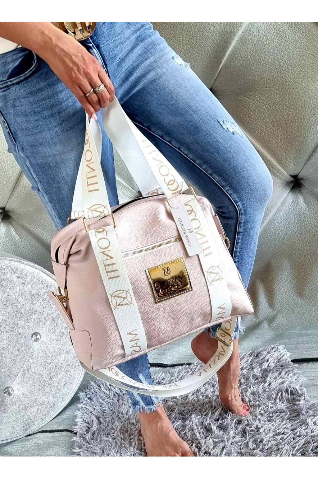 Kabelka Massimo Contti fashion růžová