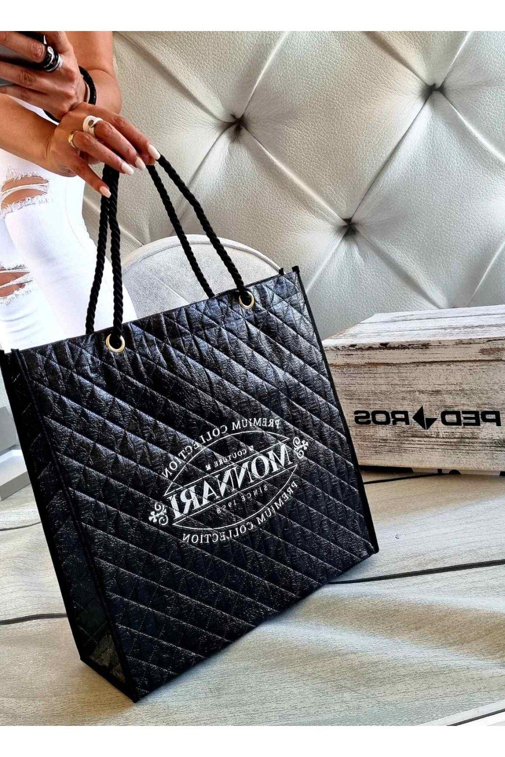 nákupní taška monnari černá