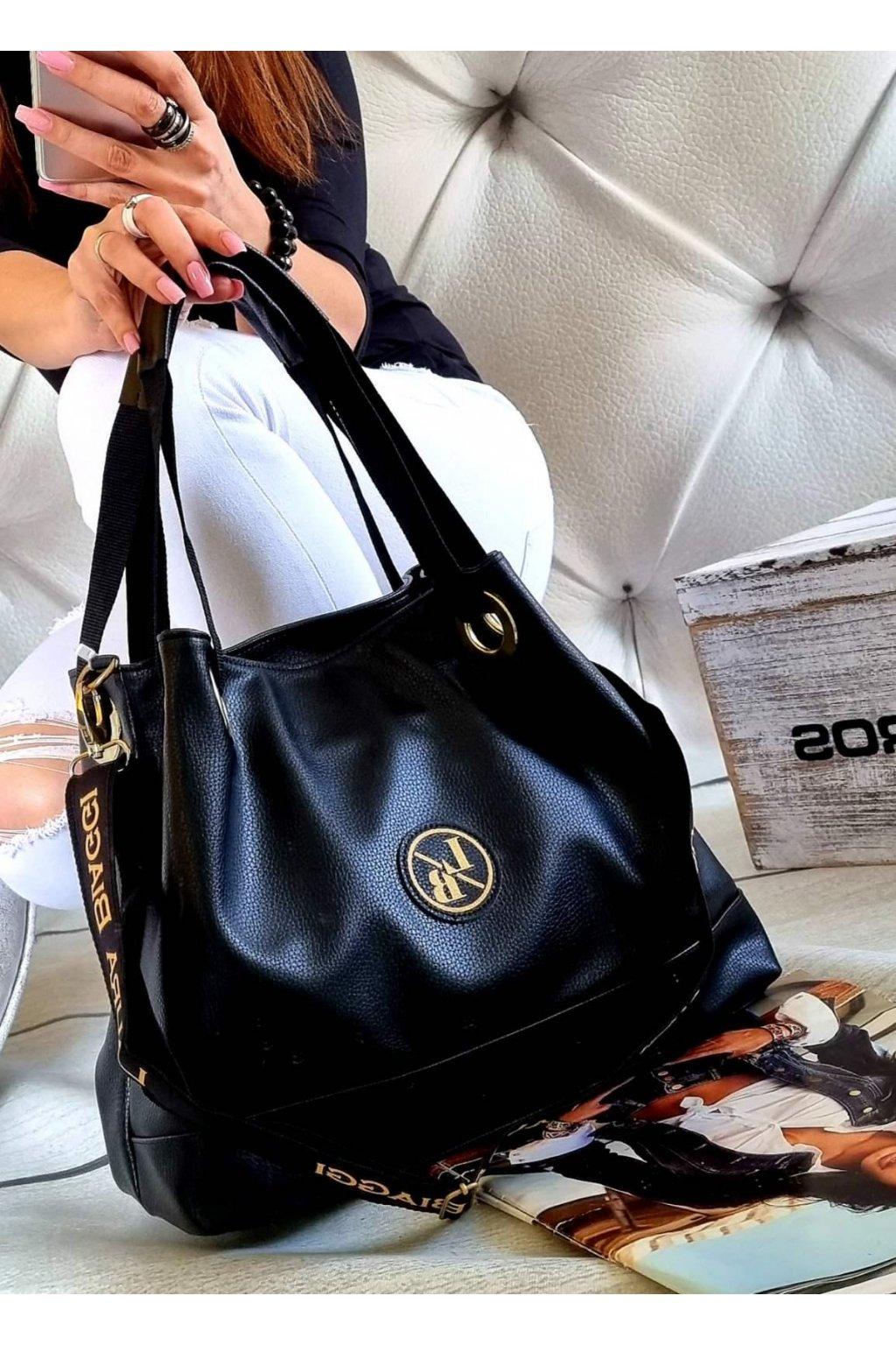 kabelka torrys laura biaggi značková luxusní kabelka černá