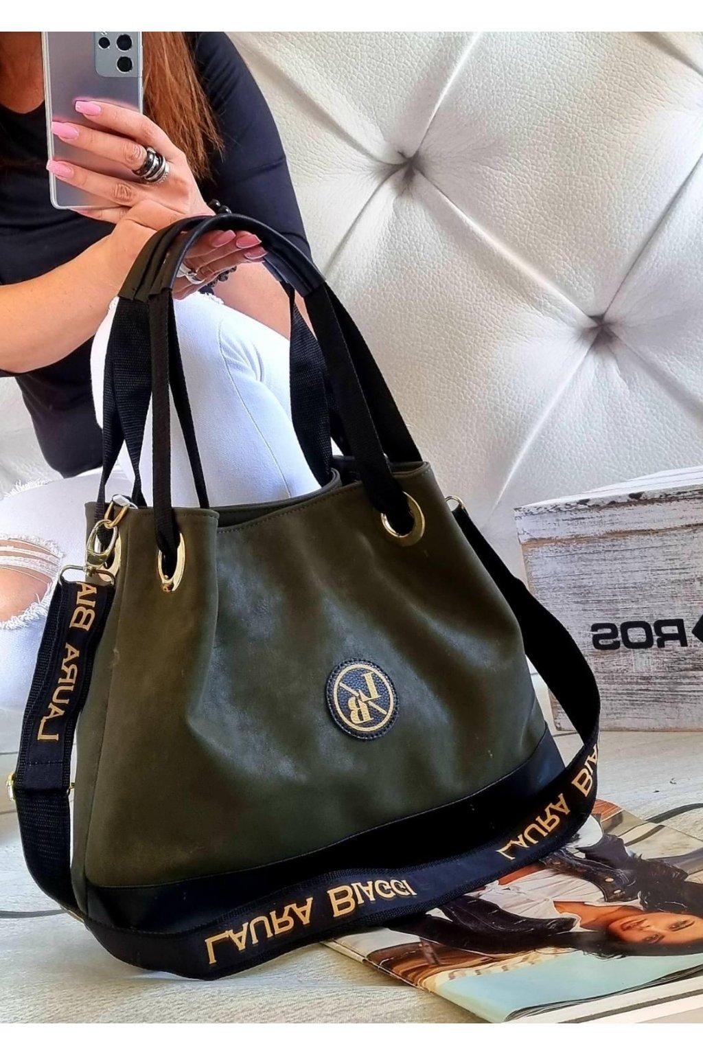 kabelka torrys laura biaggi značková luxusní kabelka zelená