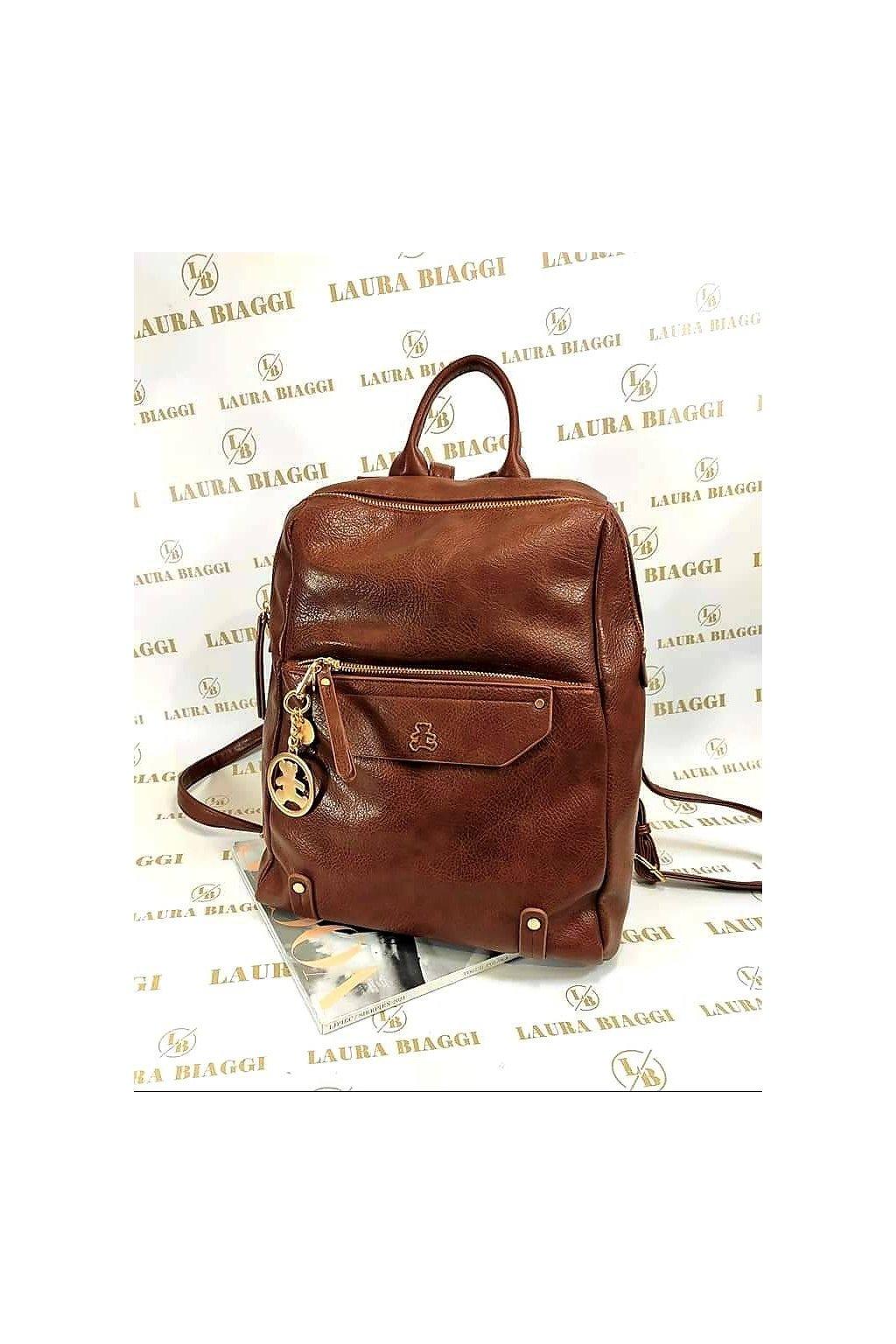 Dámský modní batoh Lulu Castagnette hnědý