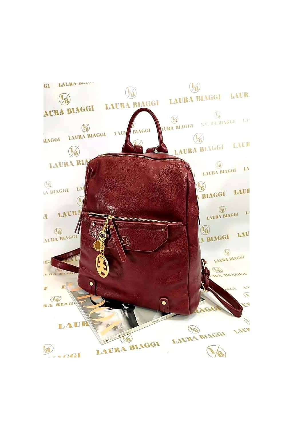 Dámský modní batoh Lulu Castagnette vínový