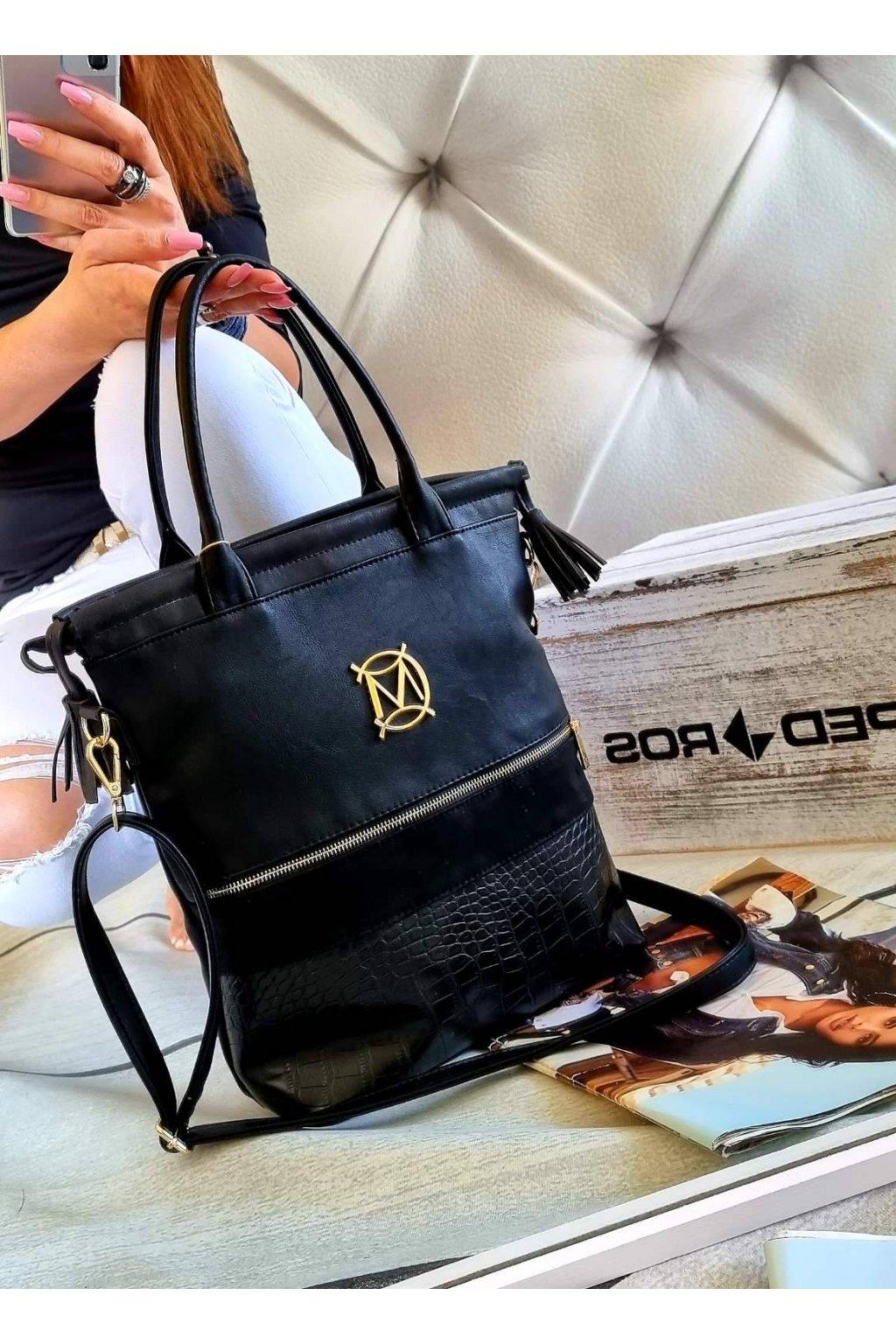Dámská trendy kabelka Massimo Stylle černá