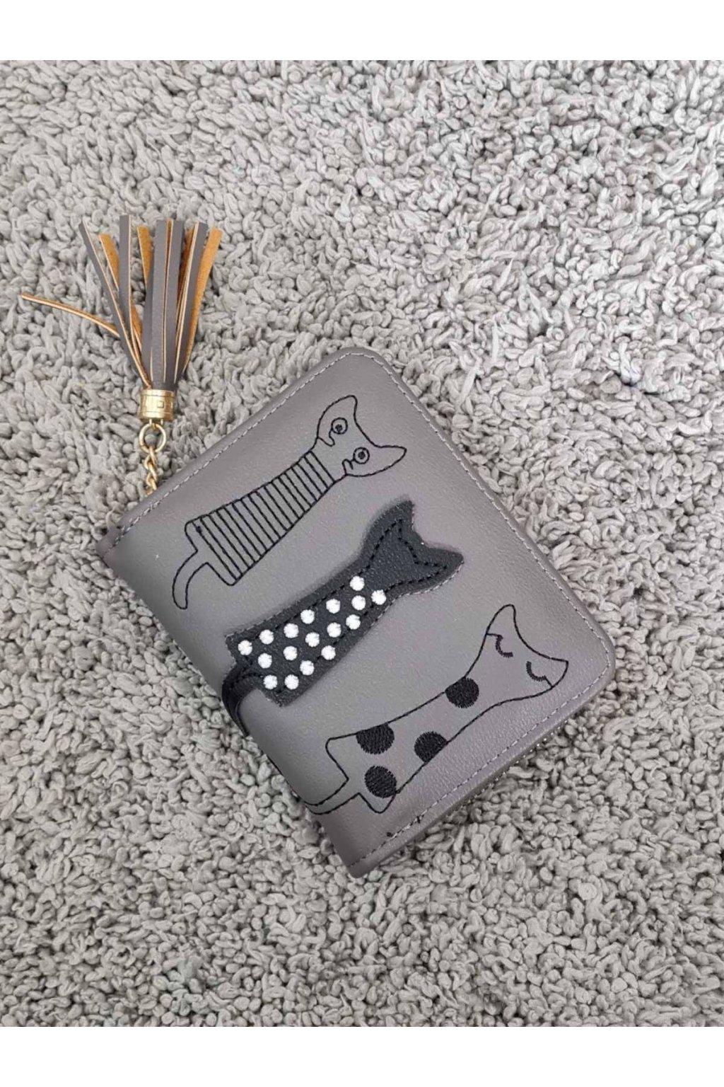 Dámská peněženka Cats šedá