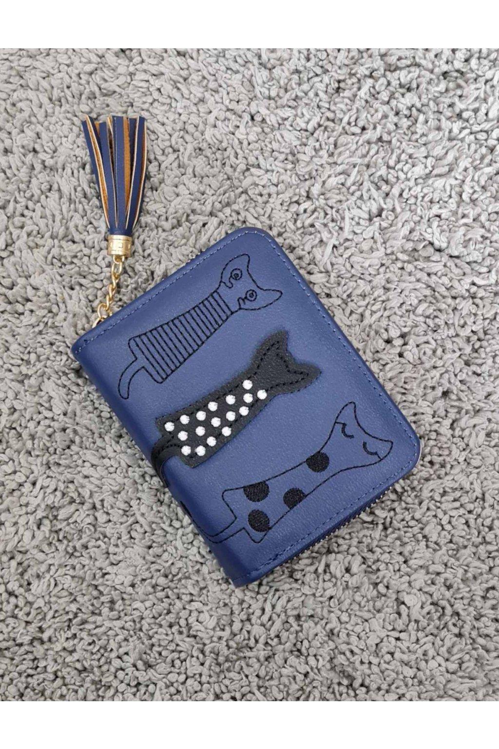 Dámská peněženka Cats tmavě modrá