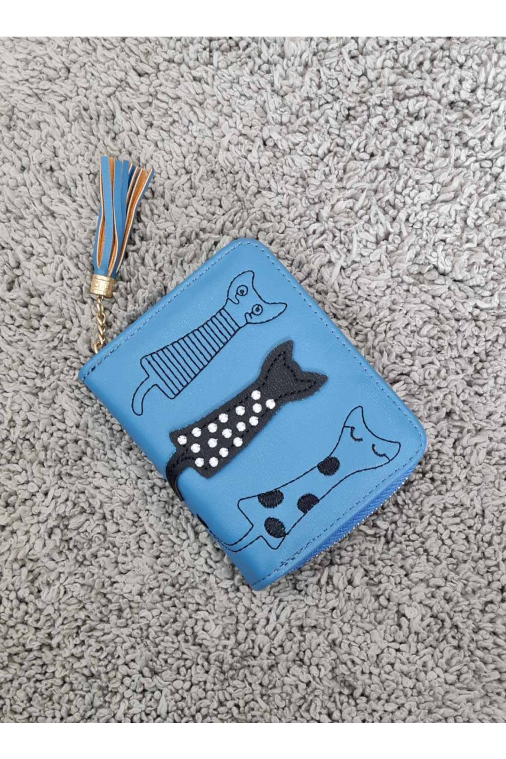 Dámská peněženka Cats modrá