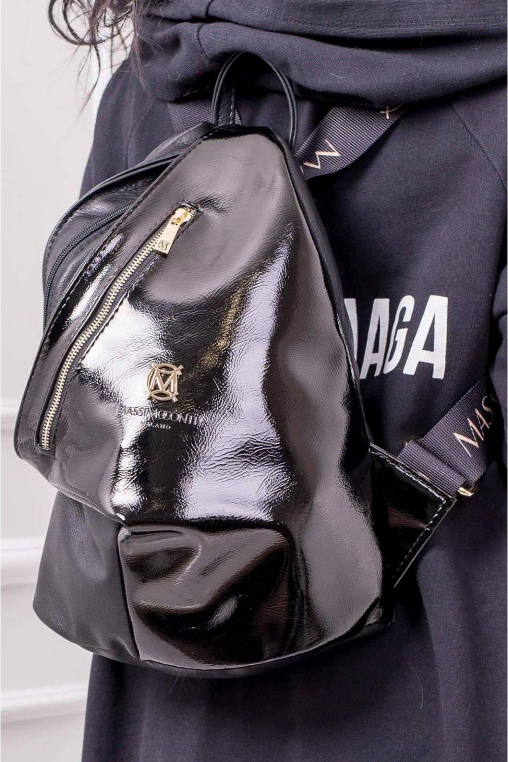 Batoh massimo contti černý italy style fashion