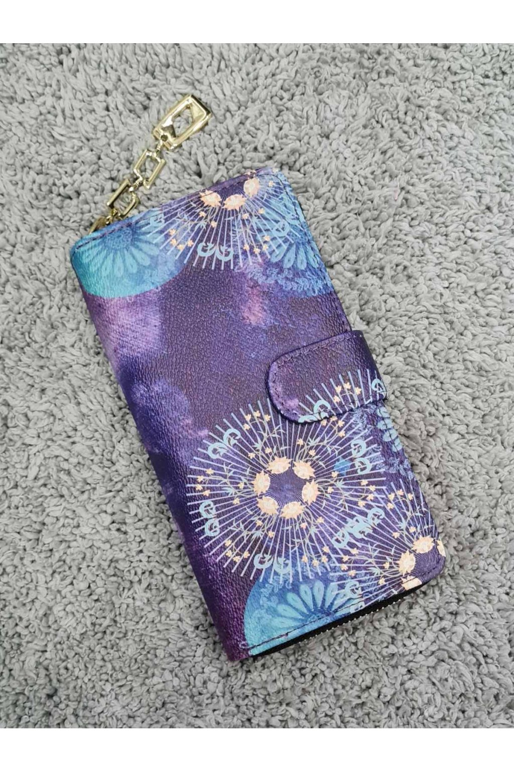 Dámská peněženka Rainbow fialová