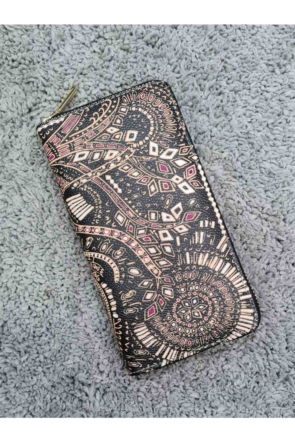 Dámská peněženka Rainbow Penálek černo hnědý
