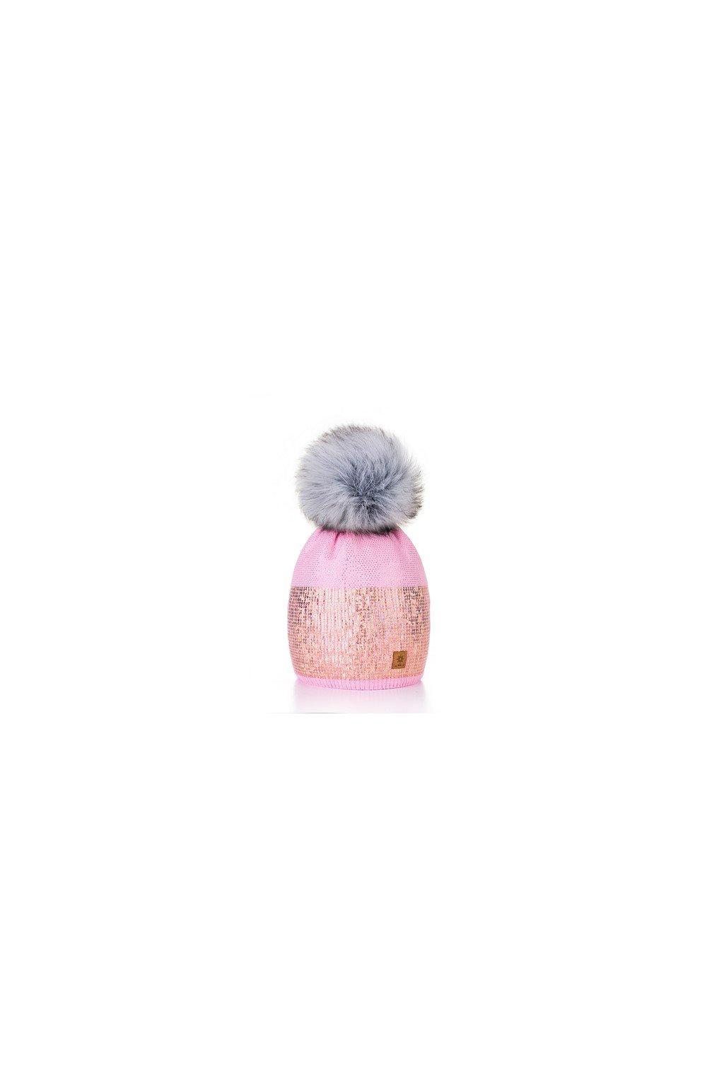 Čepice Bellen růžová