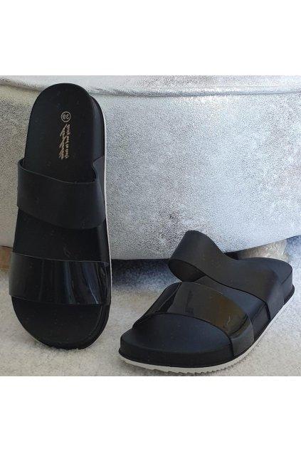 Pantofle Eveline černé