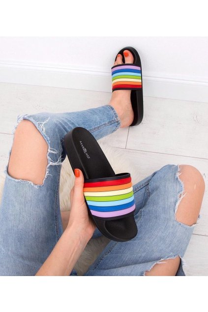 Pantofle Rainbow