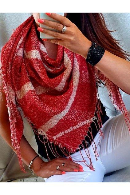 Šátek Lazio červený