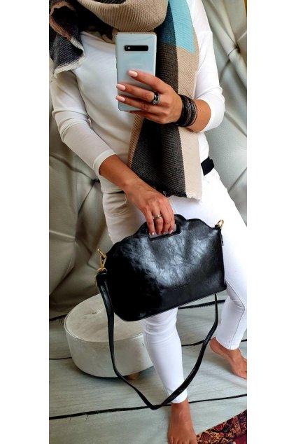 Trendy kabelka Elison černá
