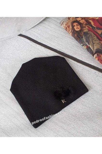 Čepice Rease černá