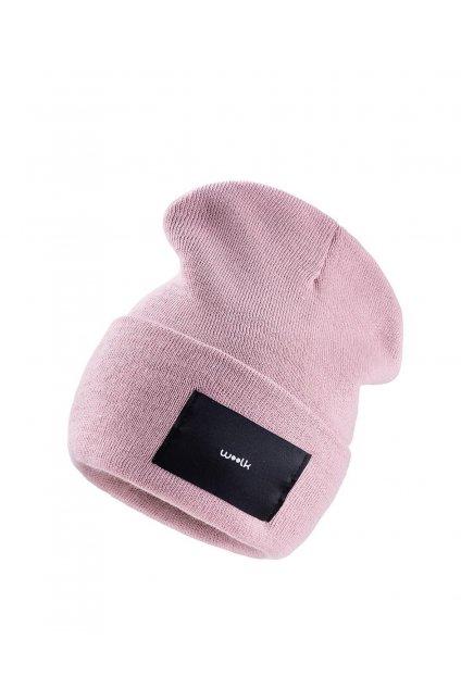 Čepice Woolk růžová