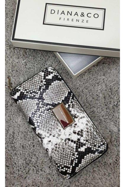 Značková peněženka Diana&co bílá