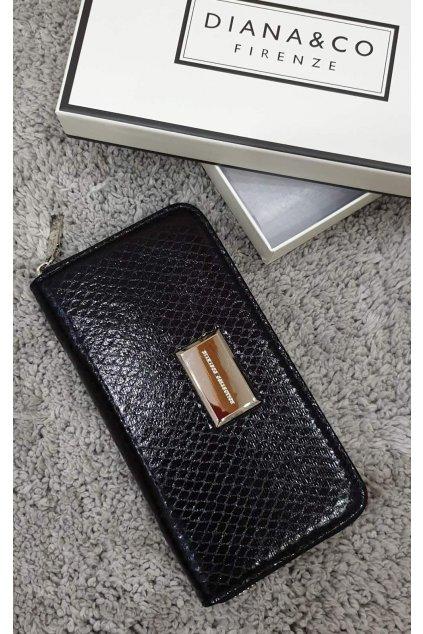 Značková peněženka Diana&co černá