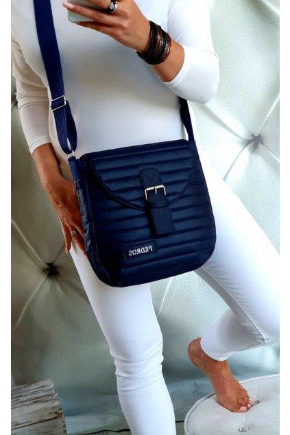 kabelka ROSE modrá