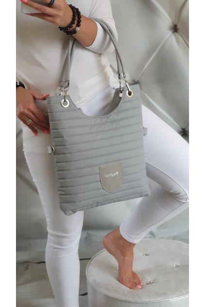 kabelka na rameno Maci šedá