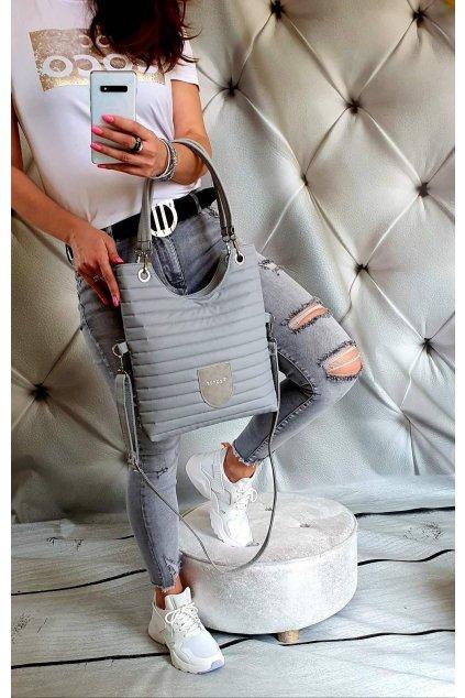 Dámská sportovní kabelka Maci šedá