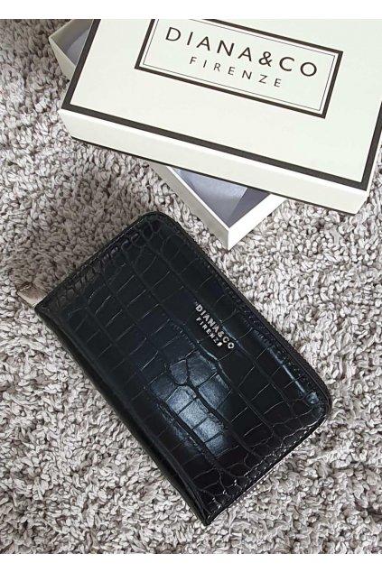 Značková peněženka Diana & co černá