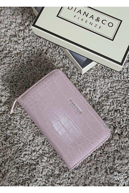 Značková peněženka Diana & co lila