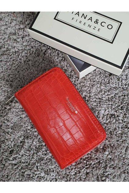 Značková peněženka Diana & co červená