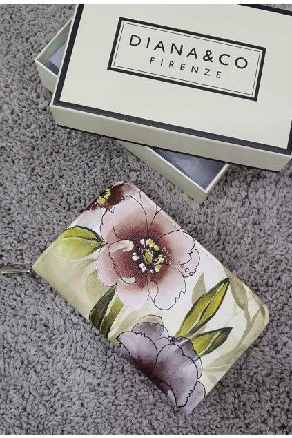Značková peněženka Diana&co béžová