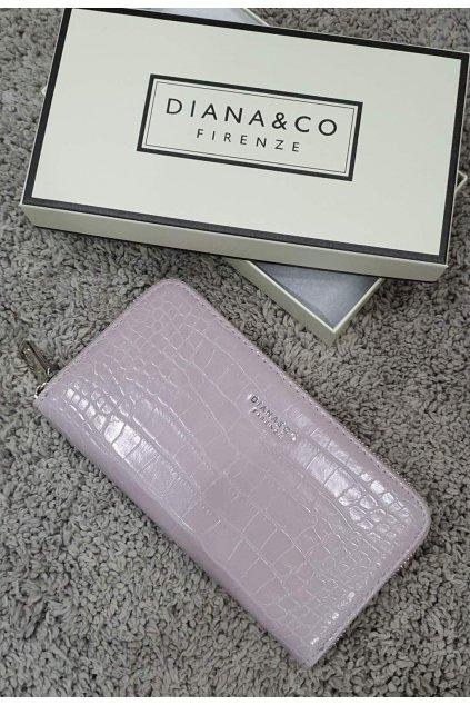 Značková peněženka Diana&co lila