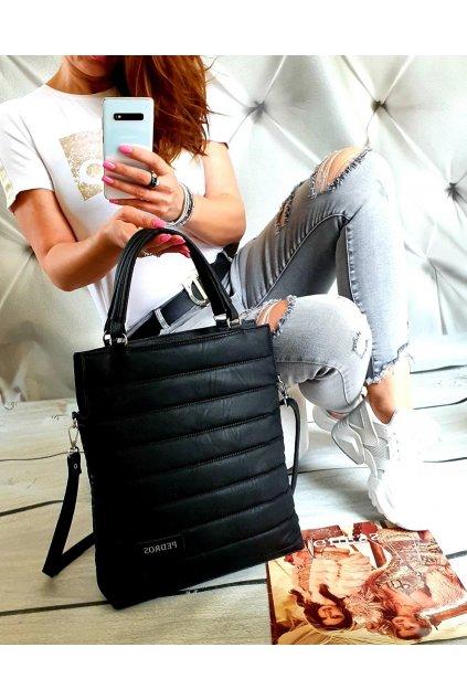 Trendy dámská kabelka Bethy černá