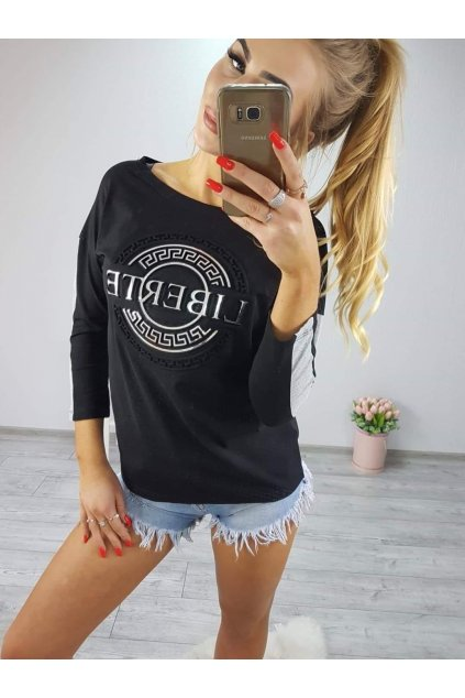 Dámské triko Liberte černé