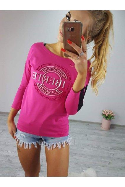 Dámské triko Liberte růžové