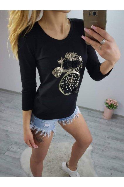 Dámské triko Parfum černé